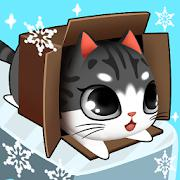 Kitty in the Box Мод много рыбок